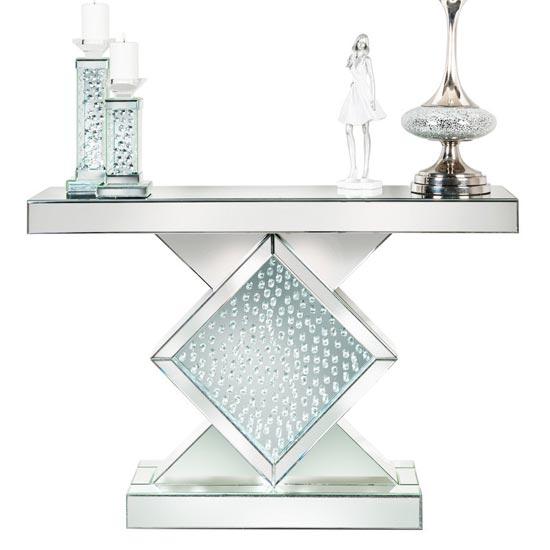 Diamond Hall Table