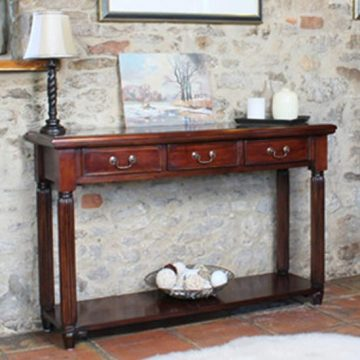La Roque Mahogany Hallway Table