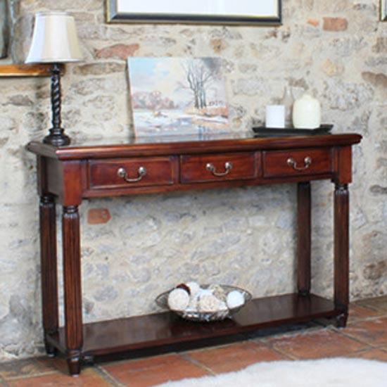 La Roque Mahogany Hallway Table
