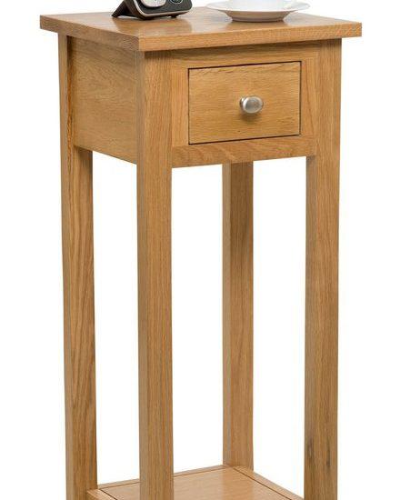 Thunderhead Pedestal Telephone Table