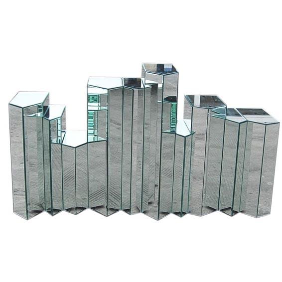 Hamien Mirrored Hall Table