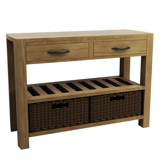 Moa 2 Drawer Hallway Table